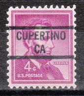 USA Precancel Vorausentwertung Preo, Locals California, Cupertino 841 - Vorausentwertungen