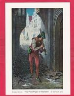 Modern Post Card Of The Pied Piper,Der Rattenfanger Von Of Hameln, Lower Saxony, Germany,L49. - Hameln (Pyrmont)