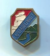 Capilla Del Monte - Argentina, Blazon, Coat Of Arms, Vintage  Pin, Badge, Abzeichen - Cities