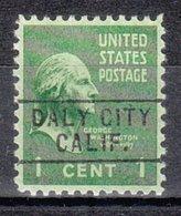USA Precancel Vorausentwertung Preo, Locals California, Daly City 745 - Etats-Unis