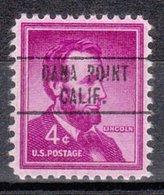 USA Precancel Vorausentwertung Preo, Locals California, Dana Point 748 - Vorausentwertungen