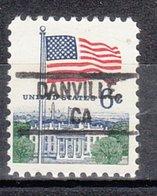 USA Precancel Vorausentwertung Preo, Locals California, Danville 828 - Vorausentwertungen