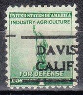 USA Precancel Vorausentwertung Preo, Locals California, Davis 716 - Vorausentwertungen