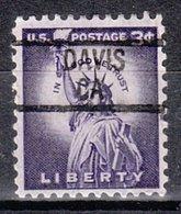 USA Precancel Vorausentwertung Preo, Locals California, Davis 839 - Vorausentwertungen