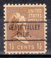 USA Precancel Vorausentwertung Preo, Locals California, Death Valley 734 - Vorausentwertungen