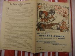 Année 60 Protège Cahier La MAISON RICHARD-PERON A SAINTES  LA BELLE AU BOIS DORMANT (3) - Cartes