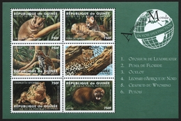 Guinea 1998 - Mi-Nr. 2048-2053 ** - MNH - Wildtiere / Wild Animals - Guinée (1958-...)