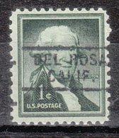 USA Precancel Vorausentwertung Preo, Locals California, Del Rosa 729 - Vorausentwertungen