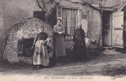 EN   BEAUCE        LE PUITS.   TYPE DU PAYS - France