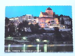 Hotel FORESTA Stockholm-Lidingö () - Anno 1968 ( Zie / Voir Photo ) ! - Suède