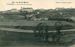 52 - LANGRES - Vue Prise Des Franchises - Langres