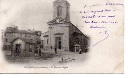 VIVEROLS : La Place De L'Eglise. - France