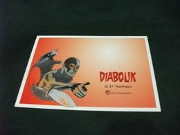 DIABOLIK AL 31° PANTHEON PIACENZA EXPO DISEGNO DI GIORGIO MONTORIO 2013 - Fumetti