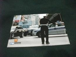 CORPO POLIZIA MUNICIPALE COMUNE DI GENOVA AUTO CAR TRAFFICO SOTTO LA SOPRAELEVATA - Polizia – Gendarmeria