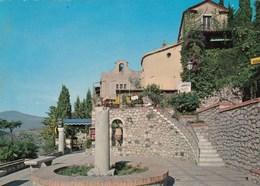 TAORMINA-MESSINA-INSEGNA BIRRA=MESSINA=-ALTO A DESTRA-CARTOLINA VERA FOTOGRAFIA VIAGGIATA IL 29-5-1972 - Messina