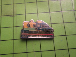 310b Pin's Pins / Beau Et Rare / THEME EDF GDF / AGENCE RHONE ET DURANCE - EDF GDF