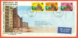 SINGAPORE - FDC - 1967 - Singapore (1959-...)