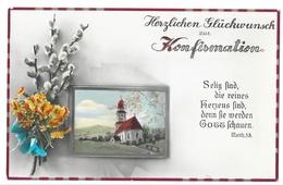 Herzlichen Glückwunsch Zur Konfirmation / Confirmation  29.03.1934 - Communion