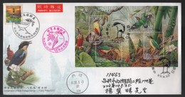 2006 Rep.Of CHINA - FDC -Conservation Of Birds Postage Stamps - Fairy Pitta - 1945-... Republic Of China