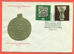 GERMANIA EST - FDC - 1970 - MEDAGLIE - FDC: Enveloppes