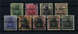 ALLENSTEIN 1920 Nr 1-9 Gestempelt (109530) - Deutschland