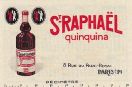 St-Raphaël Quinquina -- Calendrier 1934 Au Dos - Publicités
