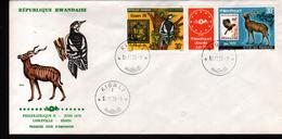 Rwanda,1979, PHILEXAFRIQUE II,. INTERNATIONAL PHILATELIC EXHIBITION - 1970-79: FDC