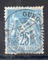 YT N° 78 De France Avec Obl. De OUED-RIOU - 18 Mai 1878 - Sage