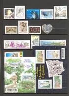 France - Lot Timbres Neufs Sans Gomme - Port Gratuit - Faciale 18 €. + Carnet 20 Adh. Marianne Du 14 Juillet ** +BF 49 O - Unused Stamps
