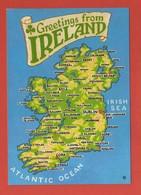 CP43 EUROPE IRLANDE 2 Carte - Irlande