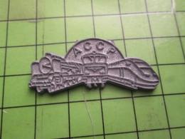 516b Pin's Pins / Beau Et Rare / THEME TGV / ASSOCIATION ACCP - TGV