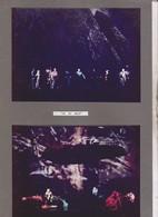 9 PHOTOS SUR 5  CARTONS SEMI SOUPLES, ACTEURS JOUANT OR DU RHIN ,  ,   , THATRE DES ARTS A ROUEN En 1967 - Photographs