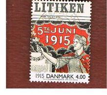 DANIMARCA (DENMARK)  -   SG 1207   -  2000  THE 20^ CENTURY: WOMEN'S SUFFRAGE     - USED ° - Usati