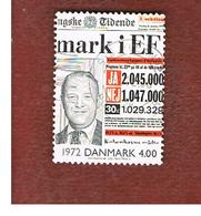 DANIMARCA (DENMARK)  -   SG 1221   -  2000  THE 20^ CENTURY: NEWSPAPER   - USED ° - Usati