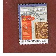 DANIMARCA (DENMARK)  -   SG 1224   -  2000  THE 20^ CENTURY: INTERNET (WEB PAGE)  - USED ° - Danimarca