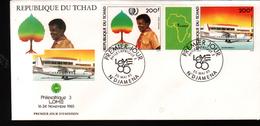 Tchadl,1985, PHILEXAFRIQUE III,. INTERNATIONAL PHILATELIC EXHIBITION - Tchad (1960-...)