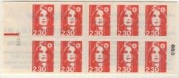 FRANCIA - Marianna Del Bicentenario2,30 Rosso - Booklets