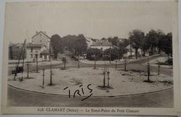 CPA-B192 - CLAMART - LE ROND-POINT DU PETIT CLAMART - Clamart