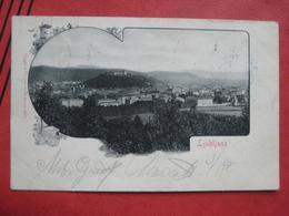 Ljubljana / Laibach - Panorama 1901 - Slowenien