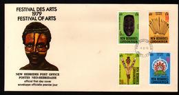 New, Nouvelles Hebrides, Festival Des Arts 1979, Festival Of Arts - FDC