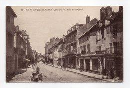 - CPA CHATILLON-SUR-SEINE (21) - Rue Des Ponts 1927 (CRÉDIT LYONNAIS) - Editions C. Lardier N° 25 - - Chatillon Sur Seine