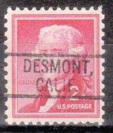 USA Precancel Vorausentwertung Preo, Locals California, Desmont 802 - Vorausentwertungen
