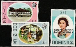 Dominica 1978, National Independence (MNH, **) - Dominique (1978-...)