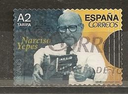 Espagne Spain 2015 Yepes Guitar Obl - 1931-Hoy: 2ª República - ... Juan Carlos I