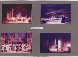 4 PHOTOS SUR 1  CARTON SEMI SOUPLE , ACTEURS JOUANT  EUGENE ONEGUIDE,  ,   , THATRE DES ARTS A ROUEN En 1967 - Photographs