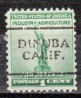 USA Precancel Vorausentwertung Preo, Locals California, Dinuba  701 - Vorausentwertungen