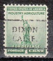 USA Precancel Vorausentwertung Preo, Locals California, Dixon 708 - Vorausentwertungen