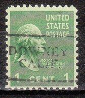 USA Precancel Vorausentwertung Preo, Locals California, Downey 701 - Vorausentwertungen