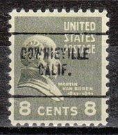 USA Precancel Vorausentwertung Preo, Locals California, Downieville 704 - Vorausentwertungen