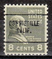 USA Precancel Vorausentwertung Preo, Locals California, Downieville 704 - Etats-Unis